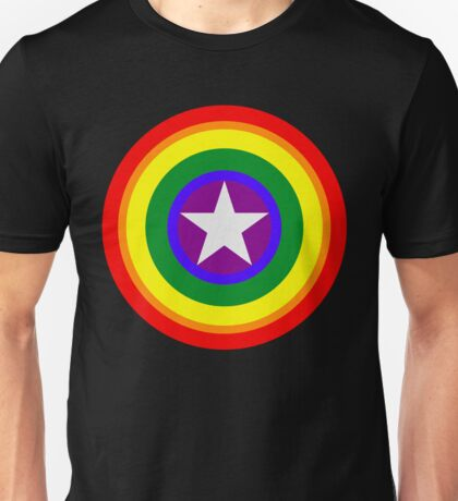 LGBT Shield Unisex T-Shirt