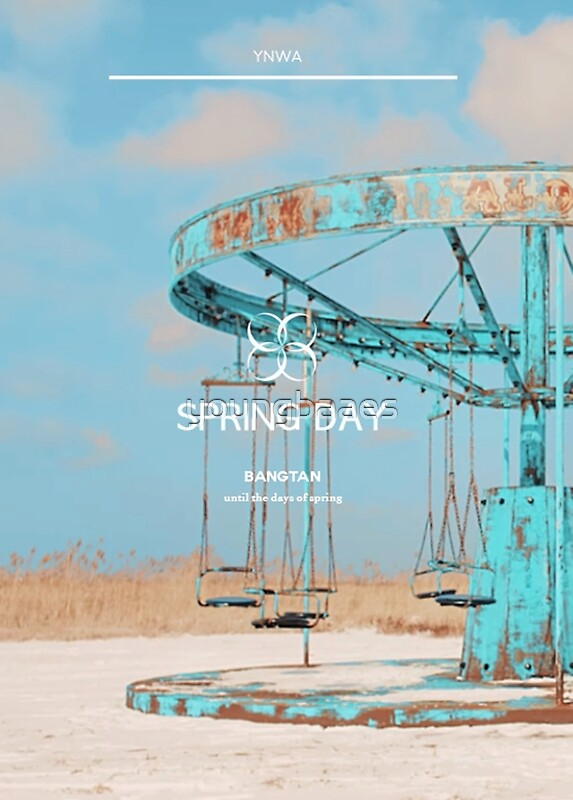 Bts Spring Day Youngbaaes Redbubble