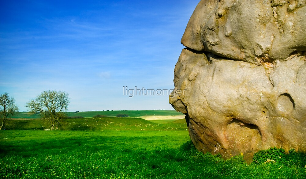 The Ancient Seeing Stone At Avebury by lightmonger