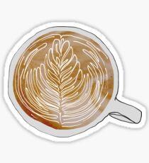 A Latte Love Sticker