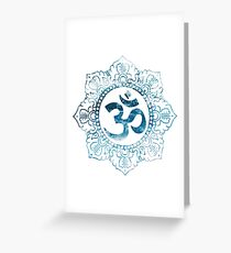 Ocean Ohm (Complex) Greeting Card