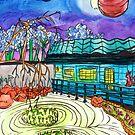 cosmic garden by HiddenStash