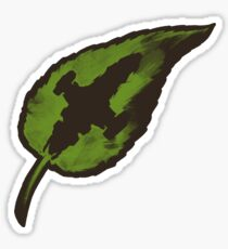 Leaf on the Wind Sticker