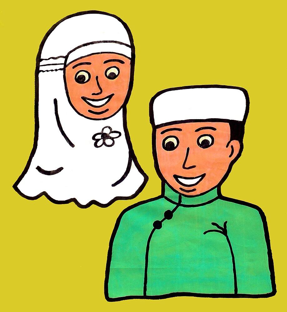 Islamic Children by mbanyak