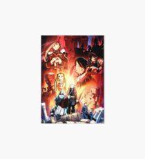 Fullmetal Alchemist: Brotherhood #1 Art Board