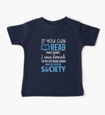 Funny If You Can Read This Book Lovers Shirt Baby Tee