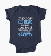 Funny If You Can Read This Book Lovers Shirt Kids Clothes