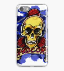Hardcore Knitting is totally a thing iPhone Case/Skin