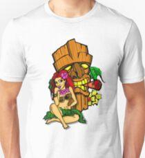 Pin Ups and Tikis  Unisex T-Shirt