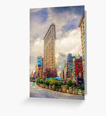 In New York City Greeting Card