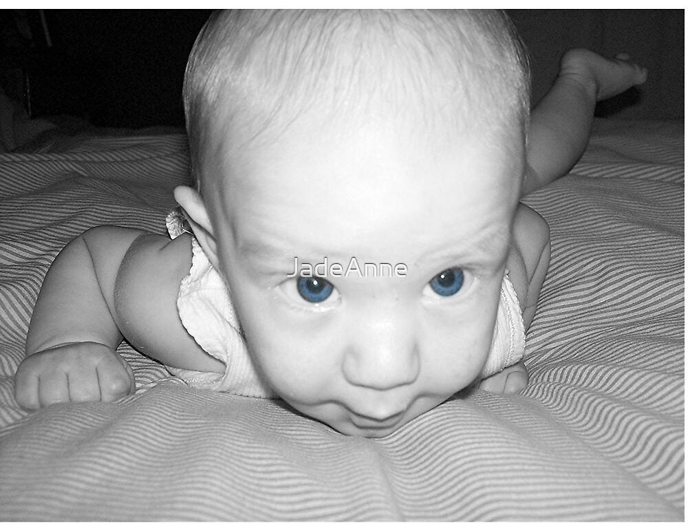 Baby Blue Eyes by JadeAnne