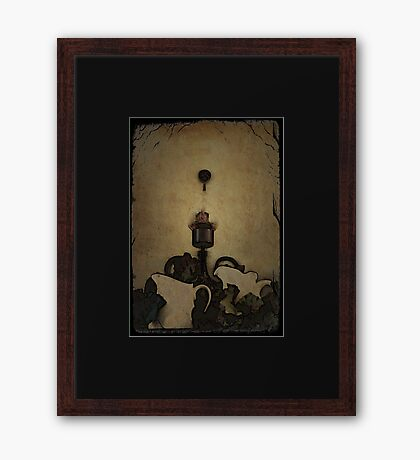 Tuscany Wall Decorations and Candle Framed Print