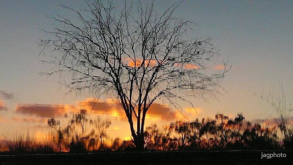 Sunset Reflection by jagphoto