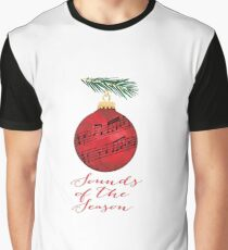 Christmas Music Rundown Graphic T-Shirt