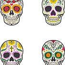 Sugar Skulls Quatro by EsotericExposal