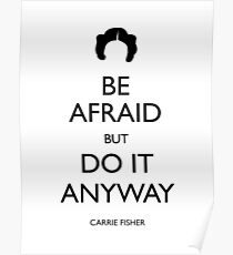Be Afraid (Leia Black) Poster