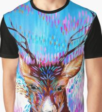 Deer Fantasy Graphic T-Shirt