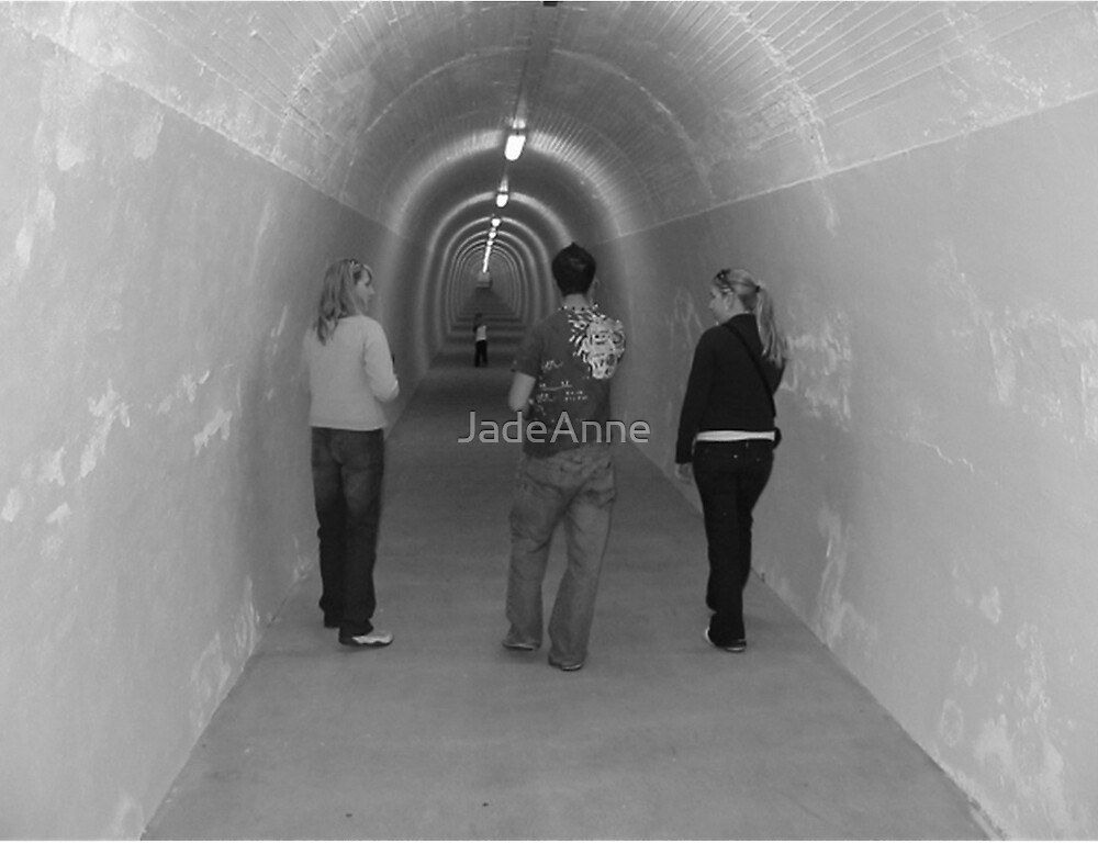 Durie Hill Tunnel by JadeAnne
