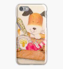 Childrens Classic kipper the dog iPhone Case/Skin