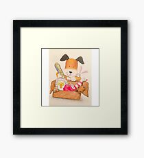 Childrens Classic kipper the dog Framed Print
