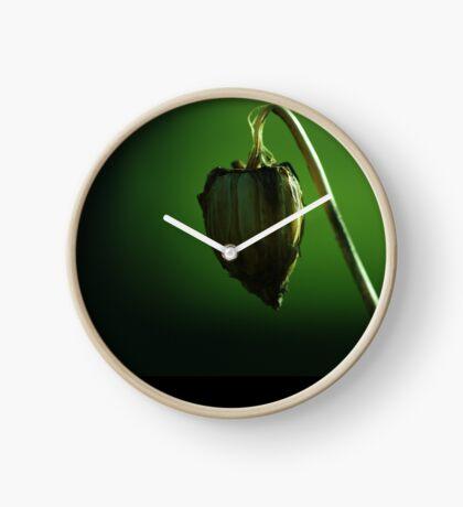 suspended heart Clock