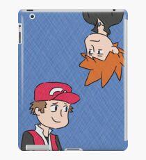red n blu iPad Case/Skin