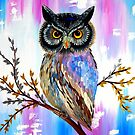 Solstice Owl by cathyjacobs