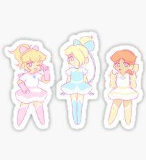 Super Mario Magische Mädchen Sticker