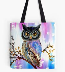Solstice Owl Tote Bag