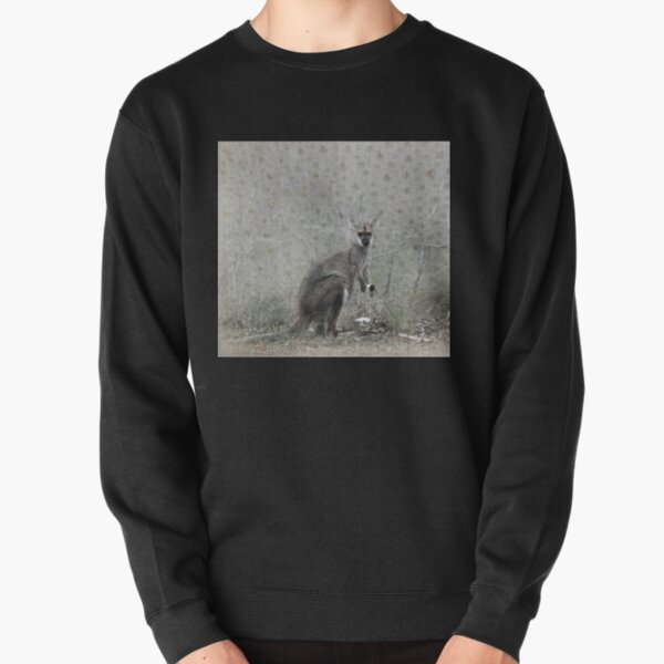 Wallaby Tea Time Pullover Sweatshirt