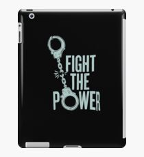 Fight the power iPad Case/Skin
