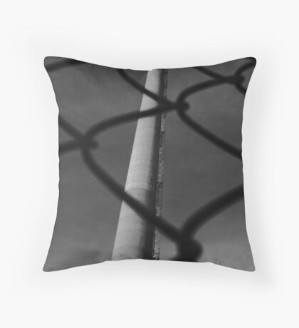 Paper Mill v.6 Throw Pillow