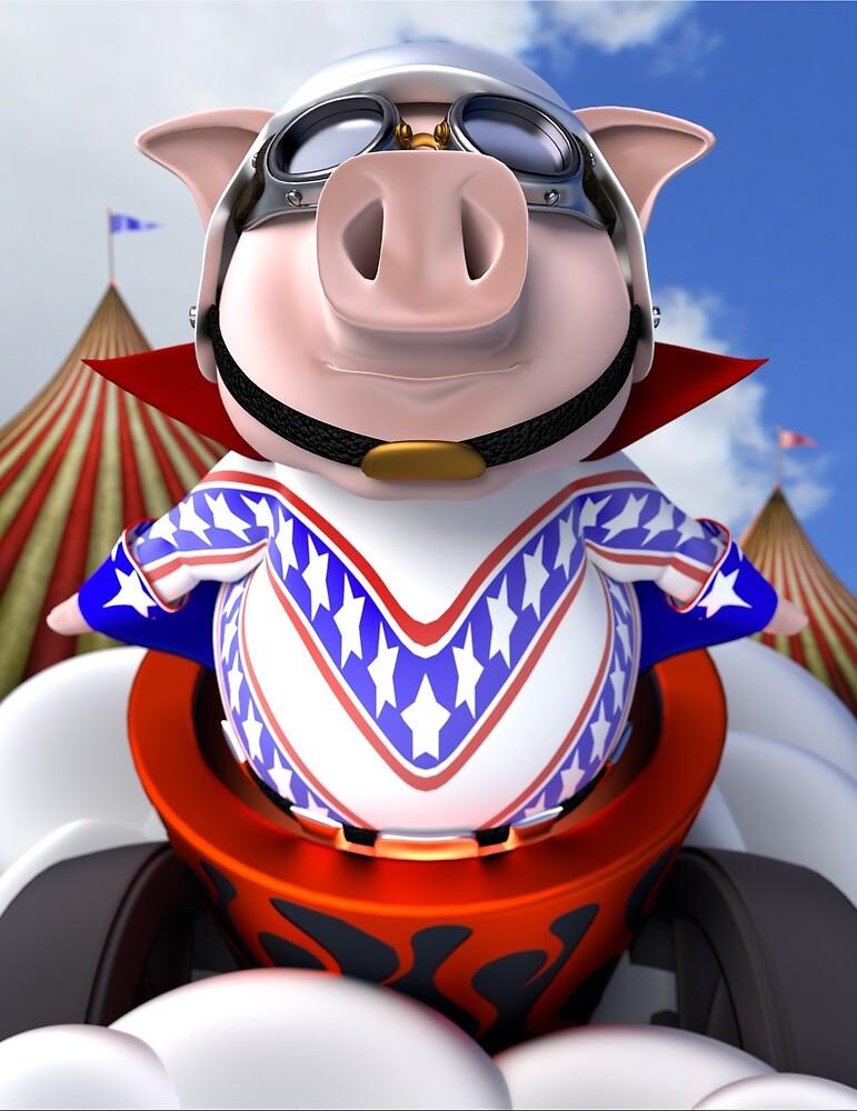Flying Pig by Richard Rabassa