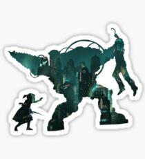 Dig Daddy Rapture - small Sticker