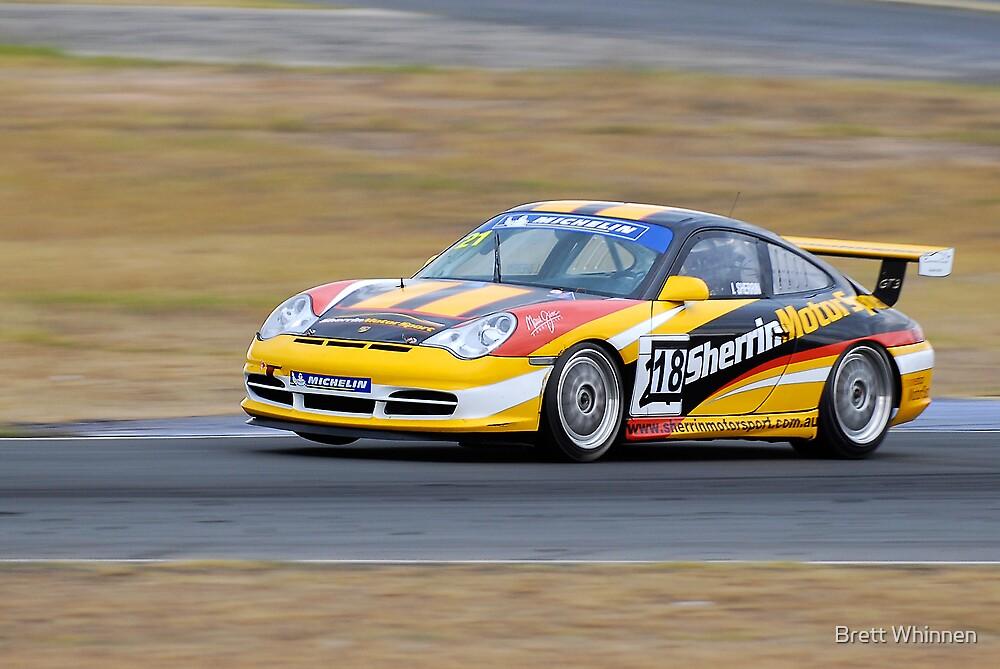Porsche - Queensland 500 by Brett Whinnen