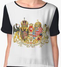 Austria Hungary Empire Women's Chiffon Top