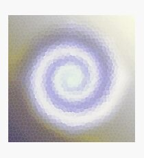 Etheral spiral Photographic Print
