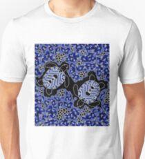 Authentic Aboriginal Art - Sea Turtle Dreaming Unisex T-Shirt