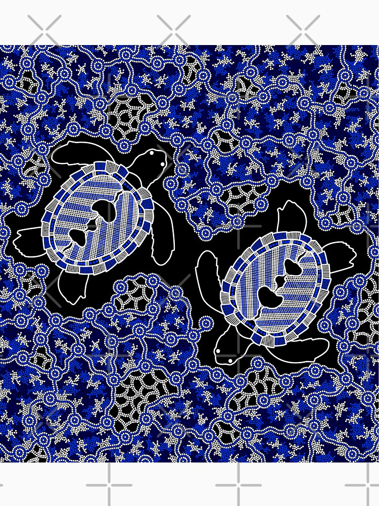 Aboriginal Art Turtles Sea Turtle Dreaming Classic T Shirt By