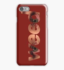red weed iPhone Case/Skin