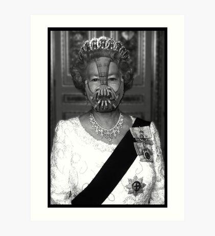 Queen Bane Art Print