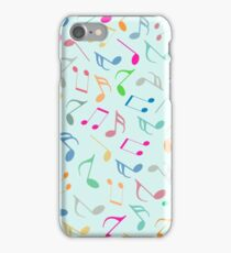 Music Colorful Notes iPhone Case/Skin