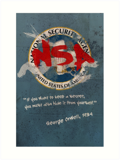 NSA Orwell by SixPixeldesign