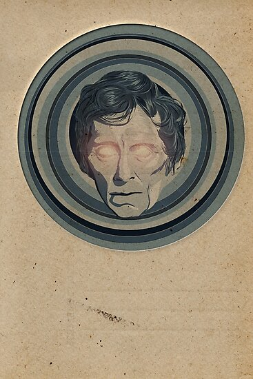 Creepy Peter Cushing by SixPixeldesign