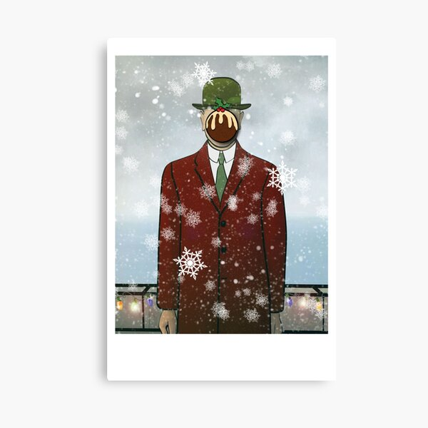 The Christmas Son of Man Canvas Print