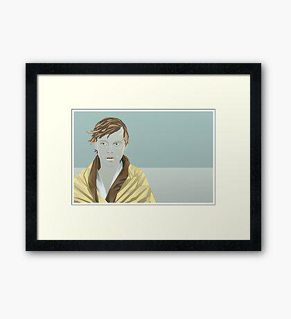 Sad Luke Framed Print