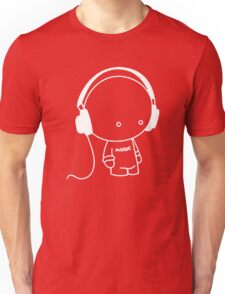 Cute Music Headphones T-Shirt Unisex T-Shirt
