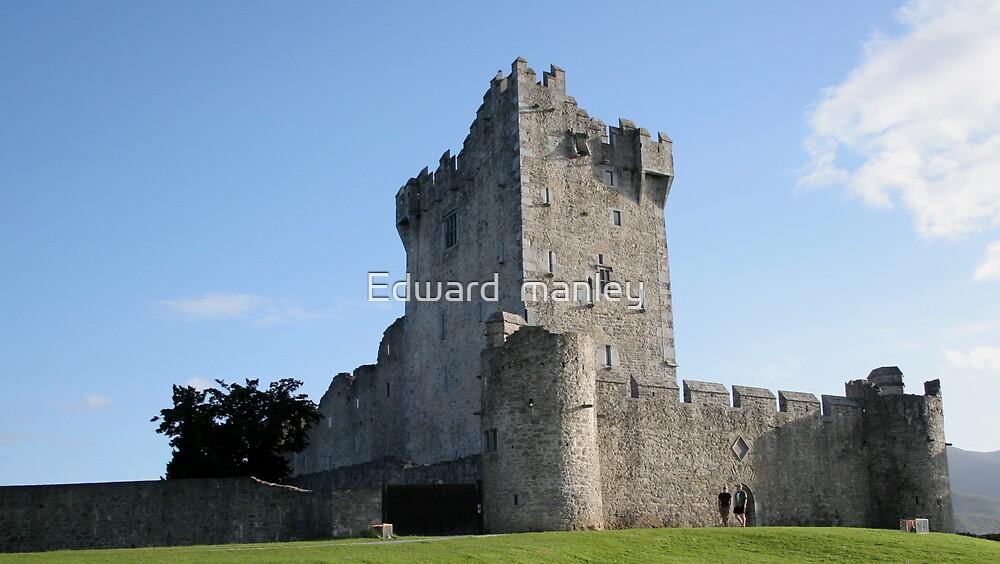 ross castle by Edward  manley