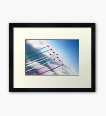 The RAF Red Arrows  Framed Print