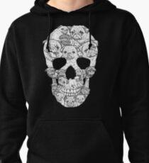 Pug Skull Pullover Hoodie
